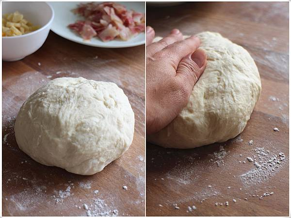 乳酪培根麵包