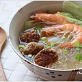 無毒蝦豆腐丸子冬粉湯