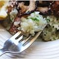 荷蘭芹與烤野菇燉飯