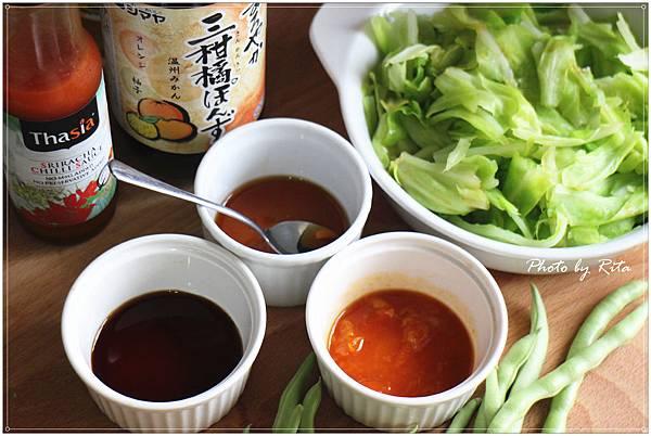煮高麗菜淋橘醋
