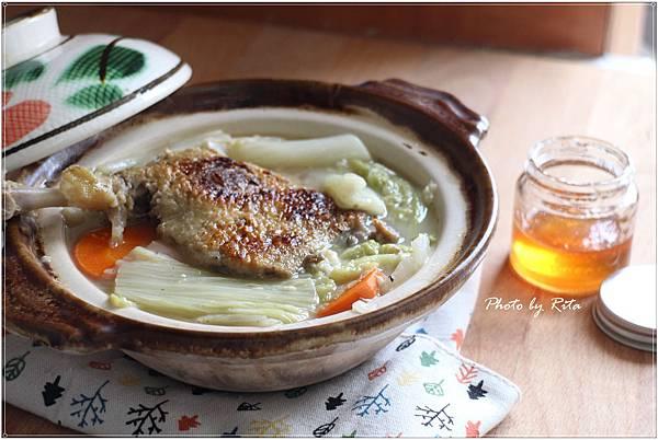 油封鴨白菜湯