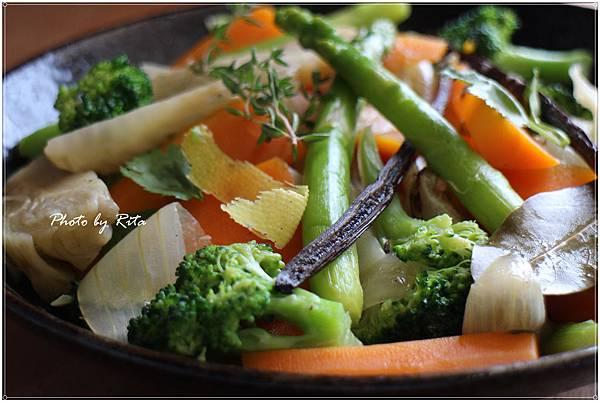 香草綜合蔬菜