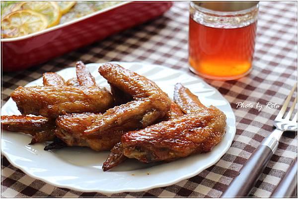 列日糖漿烤雞翅