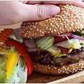 培根乳酪牛肉瘋漢堡