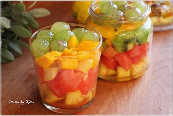 蜂蜜漸層水果沙拉