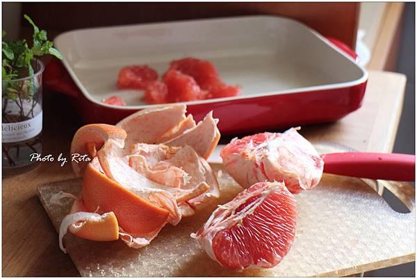 葡萄柚薄荷醬