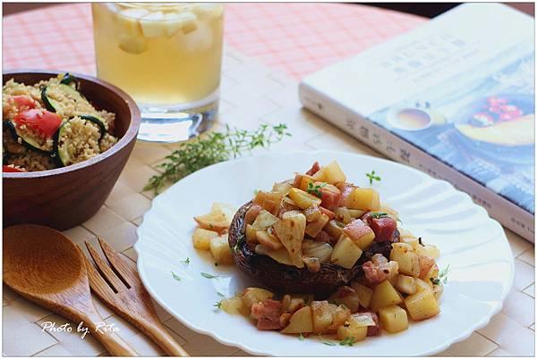 培根炒薯塊波特菇