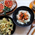 英倫早午餐~鮭魚親子茶泡飯