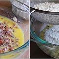 櫛瓜培根鹹蛋糕