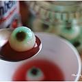 萬聖節-眼球果凍