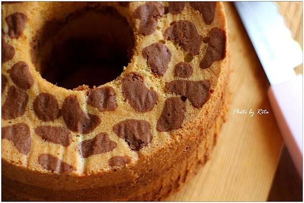 豹紋戚風蛋糕