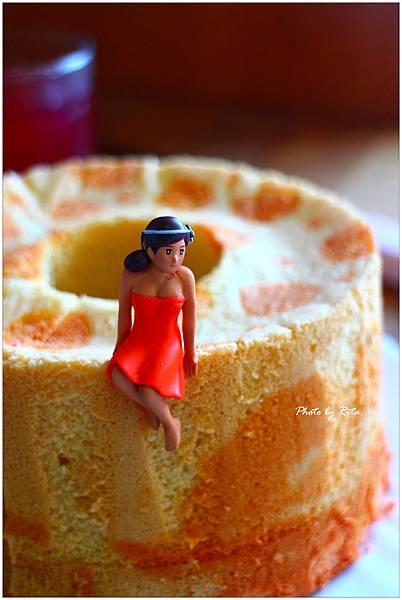 甜菜根戚風蛋糕
