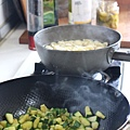 櫛瓜義大利麵
