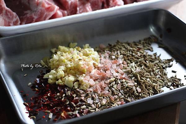 茴香籽烤肋排
