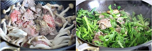 豬肉芝麻味噌義大利麵