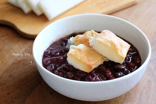 紅豆湯烤麻糬