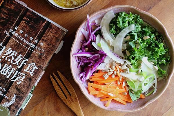 羽衣甘藍卷心菜沙拉