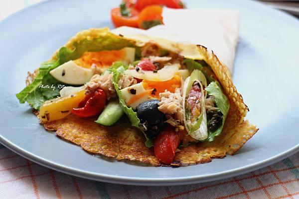 尼斯風味蔬菜索卡薄餅