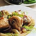 法式茴香燉雞肉