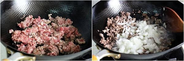 絞肉煎蛋捲