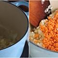 胡蘿蔔南瓜燉飯