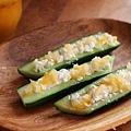 小黃瓜棒~醃漬萊姆與帕帕當薄餅