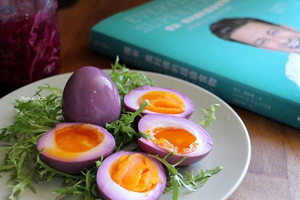臉紅紅醋醃蛋