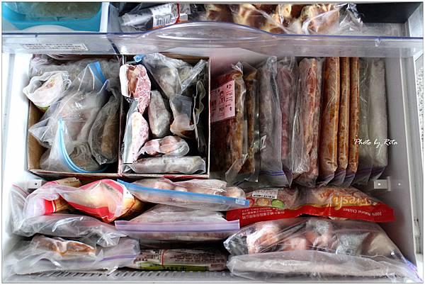 冷凍庫食材收納