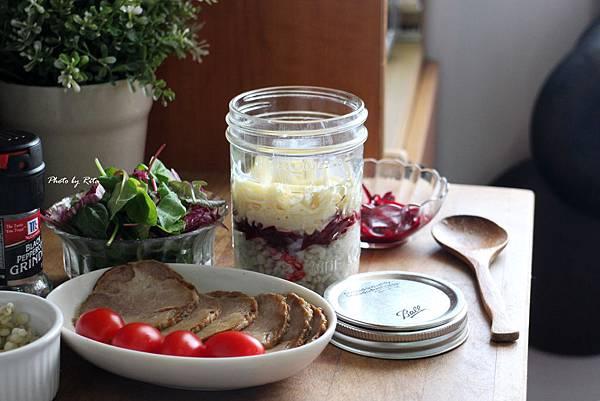 行動玻璃罐-英式沙拉