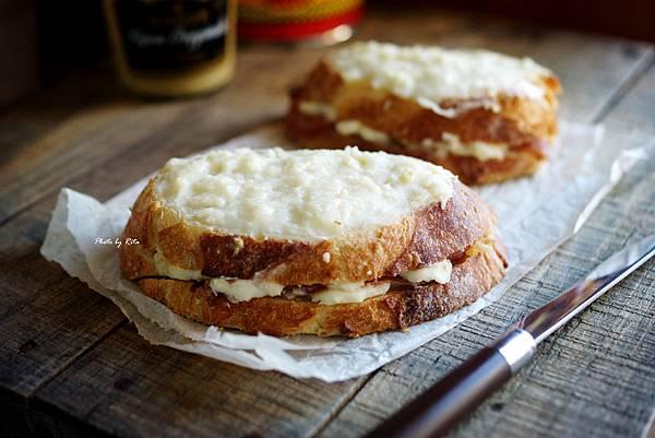 熱烤火腿起司三明治