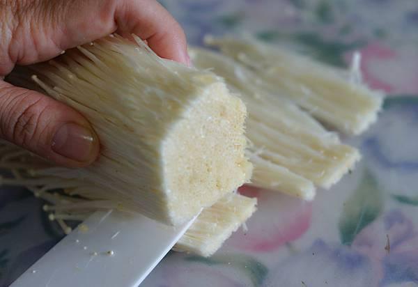 金針菇煎餅