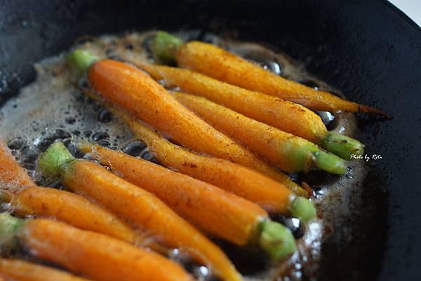 奶油煎胡蘿蔔