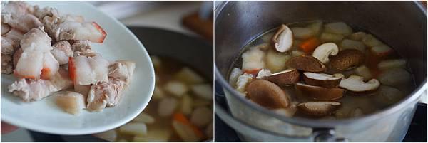 豬肉蔬菜味噌湯