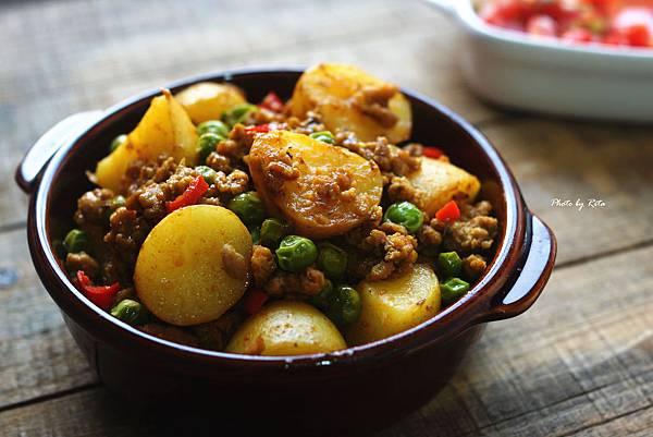 咖哩肉燥燒馬鈴薯