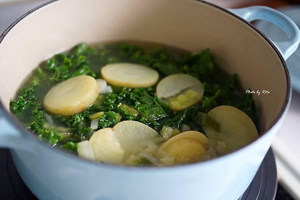 韭蔥馬鈴薯湯