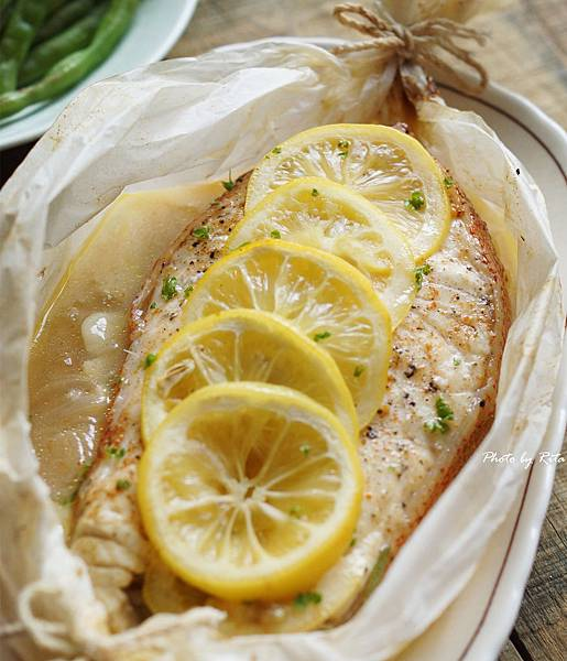 檸檬香料紙包魚