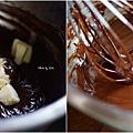純巧克力塔