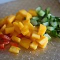 鮮蝦芒果莎莎醬