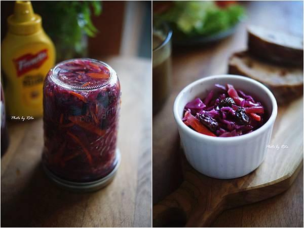 紫高麗涼拌菜