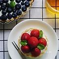 草莓馬斯卡朋乳酪塔