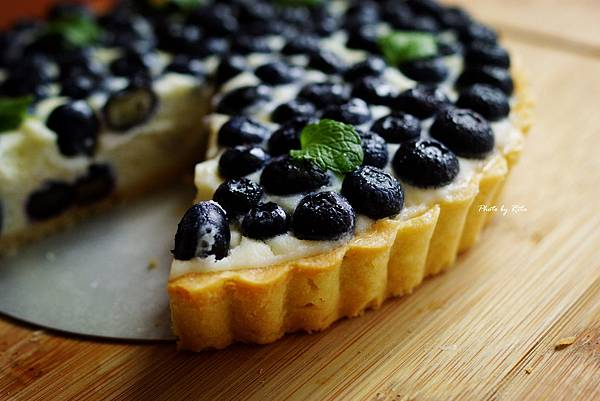 藍莓馬斯卡朋乳酪塔