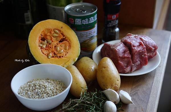 珍珠麥蔬菜