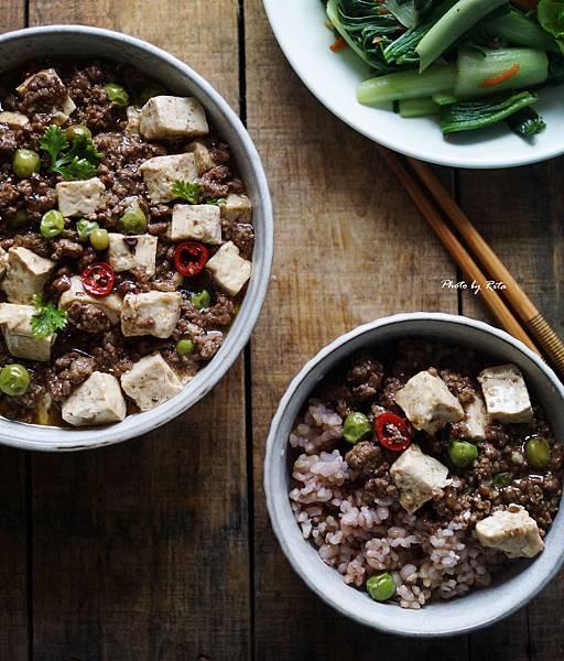 中式風味牛肉拌豆腐