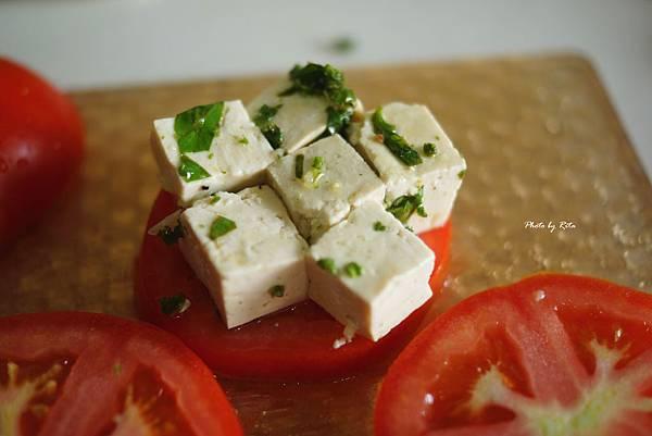 番茄豆腐沙拉