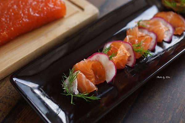 醃製生鮭魚 Gravlax