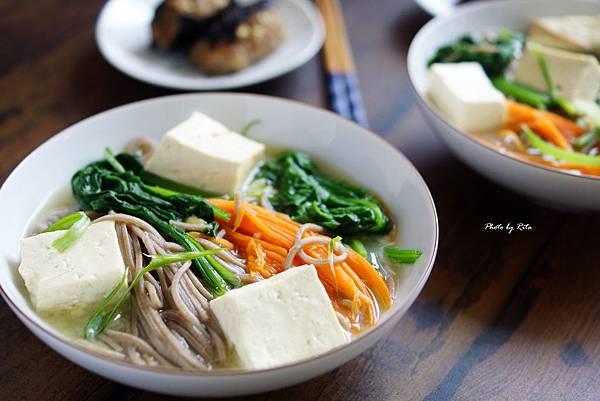 日式味噌蕎麥麵