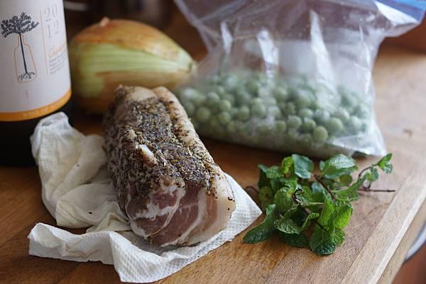 豌豆與義式培根