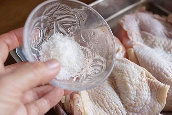 香煎鹹雞腿肉