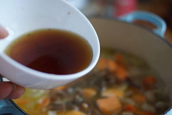 秋日雜菜湯