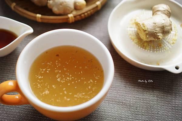 蜂蜜薑汁熱飲